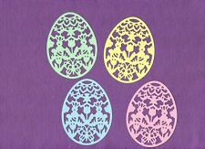 EASTER EGG SPRING BUNNY CHICKS BUTTERFLY die cuts