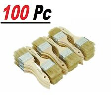 "100 Of 1"" Chip Brush Brushes Perfect for Adhesives Paint Touchups 1 Inch"