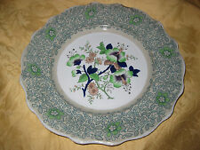 """Antique Morley Ashworth Real Stone China Ironstone 9"""" Plate (s) 1860's"""