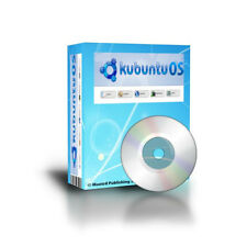 Latest LINUX Kubuntu OS 32Bit alternative to Windows XP, Vista,7 DVDROM