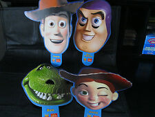 "Toy Story  ""McDonalds Mask Set Of Four""  Dated 2000"