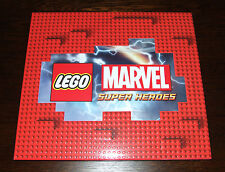 LEGO Marvel Super Heroes - RARE Press Kit / 8GB USB FLASH DRIVE + PARTY MASKS +