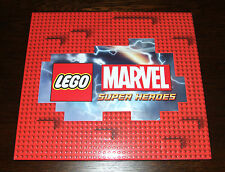 Lego Marvel Super Heroes-Raro Kit de prensa/USB Flash Drive de 8GB + Máscaras de Fiesta +
