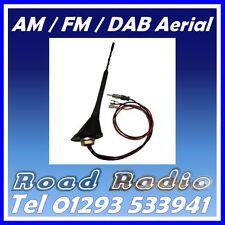 DAB Digital & AM/FM Radio de Coche/Estéreo Antena Ariel Arial flexible de montaje de techo