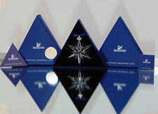 NEW 2005 Swarovski LG Crystal STAR ANNUAL ORNAMENT Rockefeller Center LE Sticker