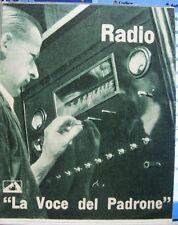 Anonimo, Radio La voce del padrone