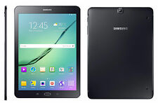"SAMSUNG Galaxy Tab s2 t810 9.7"" 32gb Nero RAM 3gb 8mp CAM più recenti OCTA CORE"