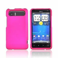 Hard Rubberized Case for HTC Vivid - Pink