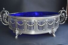 MAGNIFICENT  PIECE OF 19th Century  FRENCH SILVER PLATED CENTER PIECE JARDINIERE