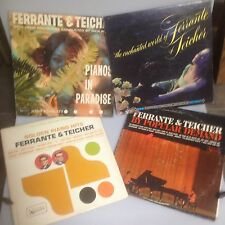 Lot of 4 Ferrante & Teicher LP Albums, United Artists Records