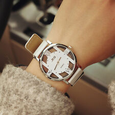 New Men Casual Watch Women Quartz Watch Analog Wrist Watches White Couple Watch