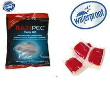 40 x Pasta Poison Bait Blocks Rodent Killer Professional Strength Mice Mouse Rat