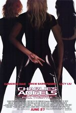 CHARLIE'S ANGELS FULL THROTTLE 11.5x17 PROMO MOVIE POSTER