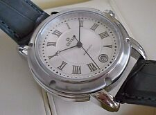 Mint Men's Gevril A0111R Automatic Date Swiss Watch. Box Included. #5274
