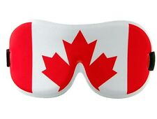 Dream Essentials Funny Sleep Mask  Canadian Flag for Travel With Eye Cavities