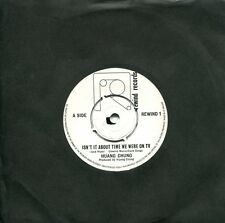 "rare New Wave 7"" HUANG CHUNG -Isn't It About Time We Were On TV (UK,Rewind,1980)"