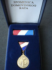 Croatia army, small Testimonial of Homeland War 1992; Spomenica, order, medal