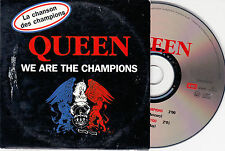 CD CARDSLEEVE CARTONNE QUEEN WE ARE THE CHAMPIONS 2T DE 1998 FRENCH EDITION