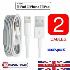 2X Genuine Sync & Charger USB Data Cable For Apple iPhone 6S 55C 5S iPad Sonica