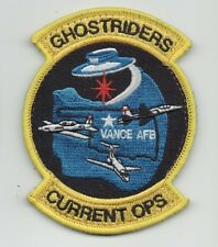 "USAF Patch 71st OPERATIONS SUPPORT SQUADRON, FLT OPS/""CURRENT OPS"", 4"" X 3"""