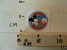 STICKER,DECAL MICKEY MOUSE DONALD DUCK DISNEY BOEKENCLUB
