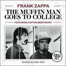 FRANK ZAPPA w CAPTAIN BEEFHEART New 2016 UNRELEASED 1975  LIVE CONCERT 2 CD SET
