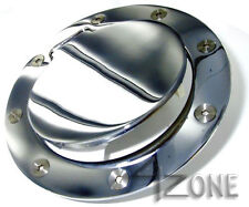 Chrome Fuel Gas Door w/o lock Ford F150 F250 F350 Excursion Expedition New