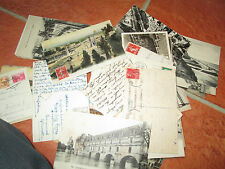 bulk lot 500 OLD VINTAGE MIXED POSTCARDS MAINLY EUROPE/WORLD 1910s to 1950 s