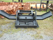 SNOW PLOW LIFT BRACKET WITH BUMPER & LIFT CYLINDER FOR HEAVY DUTY DUMP TRUCK