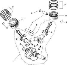 clavette pour piston embiellage quad RS8 Hsun ( pièce n°3 sur le  plan)