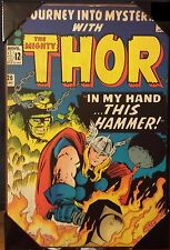 "The Mighty Thor #120 In my hand this hammer wooden wall art 19"" x 13"" new"
