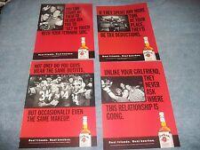 27 Ad Lot For Jim Beam Bourbon Whiskey 1980's thru 2000's