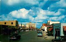 Texas, TX, Harlingen, Jackson Street Chrome Postcard