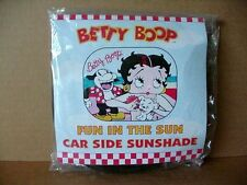 Betty Boop SUNSHADE FOR SIDE REAR WINDOWS FUN IN SUN TWO (2) PIECES IN PACKAGE