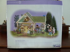 """Dept. 56 Snow Village Easter """"Lily's Nursery & Gifts"""" #56.55095 NIB Retired 2004"""