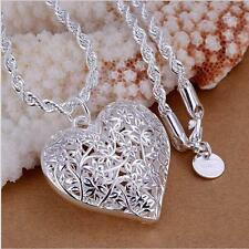 Design Women's Accessories Chain Silver Plated Pendants Necklace Jewelry Gifts