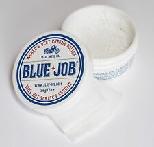 Blue-Job® Chrome Polish-Twice the Amount! Non-Abrasive Polish for Exhaust Pipes!