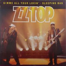 """ZZ Top - Gimme All Your Lovin' / Sleeping Bag - 12"""" Maxi - k1480 - RAR"""