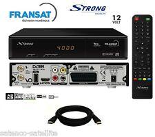 STRONG FRANSAT HD Décodeur TNT HDMI Récepteur satellite + Carte FRANSAT à vie