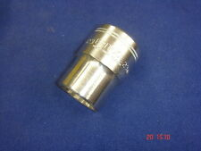 Britool 3/4 Square Drive Socket Bi-Hex 23mm Made in England HBM23