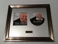 SIGNED/AUTOGRAPHED TOM BAKER AT 80 CD FRAMED PRESENTATION. DR WHO.DOCTOR WHO