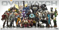 "YX00600 Overwatch -Hot Xbox One Video Game 47""x24"" Poster"