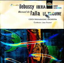 Debussy De Falla Iberia Printemps Tricorne Fournet Supraphon SUA 50614 SEALED