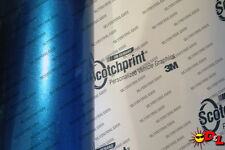 "3M 1080 Scotchprint Gloss Blue Metallic Wrap Film 12""x36"" 3 sq. ft. G227"