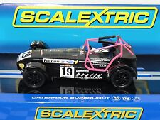 SCALEXTRIC CATERHAM SUPERLIGHT #19  C3647  1.32 LATEST OUT BNIB