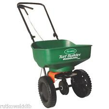 Scotts 5000 Sq Ft Turf Builder EdgeGuard Mini Broadcast Fertilizer Spreader