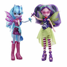 Childrens My Little Pony Equestria Girls Sonata & Aria 2 Pack Of Dolls Toys 5+