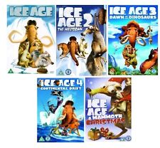 ICE AGE QUADRILOGY DVD SET PART 1 2 3 4 ALL MOVIE FILMS + CHRISTMAS SPECIAL NEW