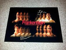 "FRANKENSTEIN PLAY PP SIGNED 12""X8"" A4 PHOTO POSTER BENEDICT CUMBERBATCH MILLER"