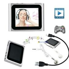 "6TH GENERATION MP3 MP4 MUSIC MEDIA PLAYER FM Games Movie 1.8""LCD SCREEN NEW E"